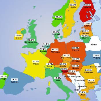 Presencia de Firefox en Europa - Dic. '06