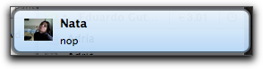 Mensaje recibido - Skype